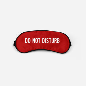 Do Not Disturb Sleep Masks Aviation Shop Red Sleep Mask