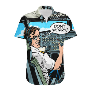 Don't Worry Thumb Up Captain Designed 3D Shirts