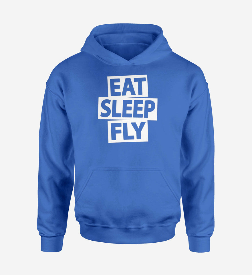 Eat Sleep Fly Designed Hoodies