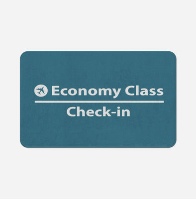 Economy Class - Check In Designed Door & Bath Mats