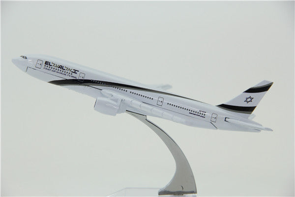 El Al Israel Airways Boeing 777 Airplane Model (16CM)