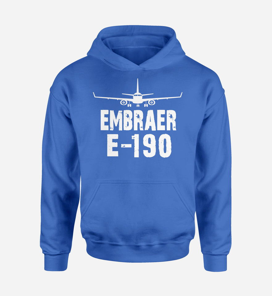 Embraer E-190 & Plane Designed Hoodies