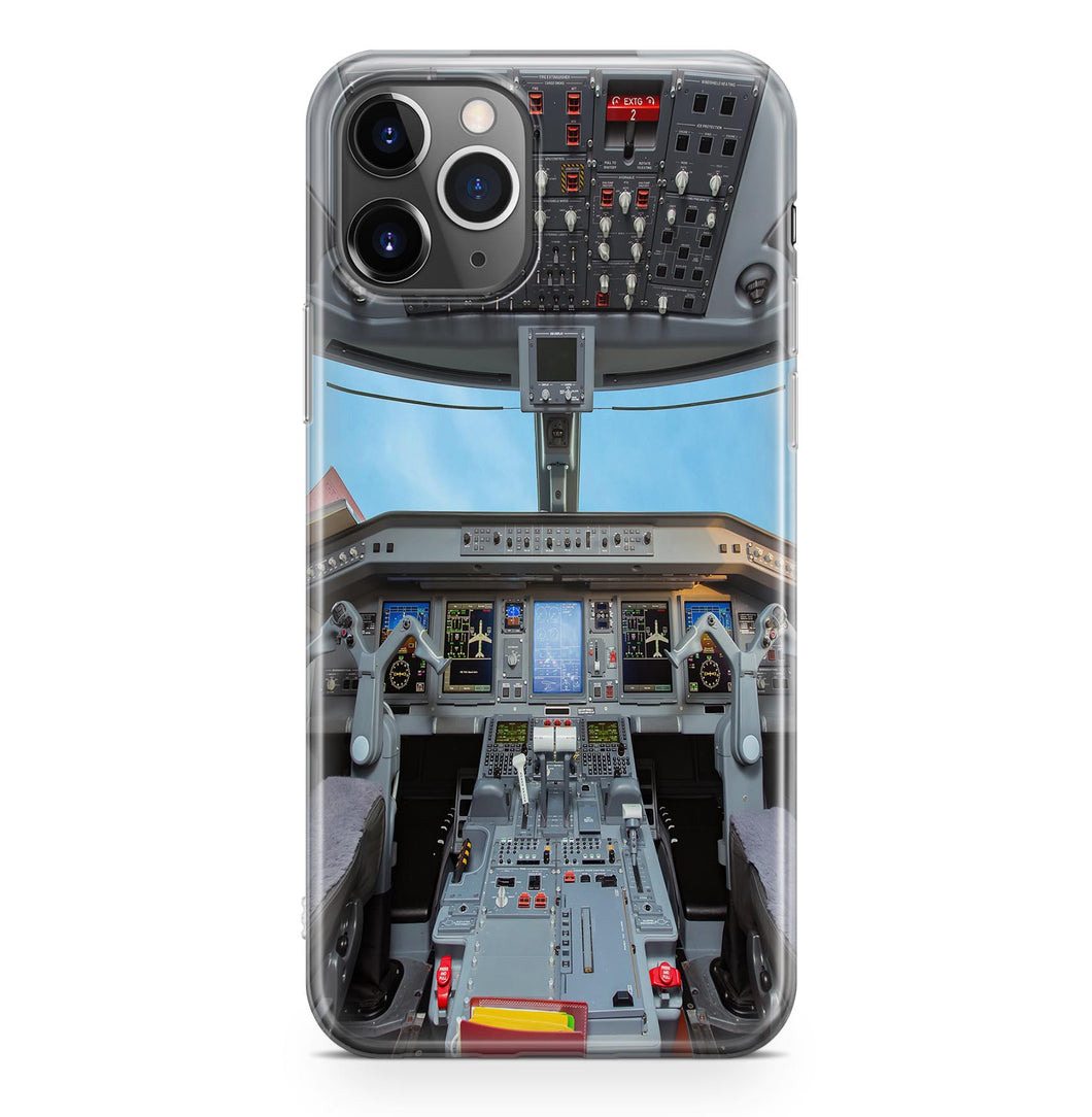 Embraer E190 Cockpit Printed iPhone Cases