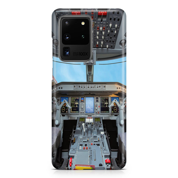 Embraer E190 Cockpit Printed Samsung S & Note Cases