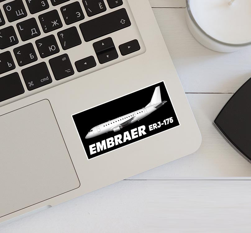 The Embraer ERJ-175 Designed Stickers