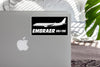 The Embraer ERJ-190 Designed Stickers