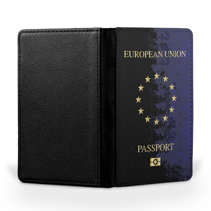 European Union Passport Designed Passport & Travel Cases