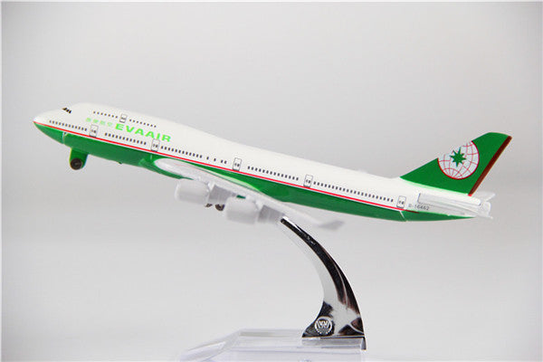 Eva Air Boeing 747 Airplane Model (16CM)