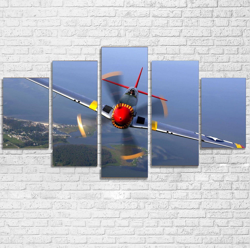 Face to Face Amazing Propeller Printed Multiple Canvas Poster