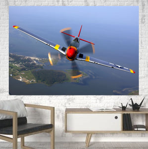 Face to Face Amazing Propeller Printed Canvas Posters (1 Piece) Aviation Shop