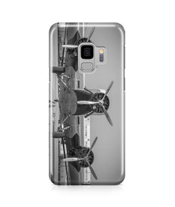 Face to Face to 3 Engine Old Airplane Printed Samsung J Cases
