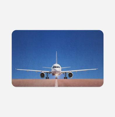Face to Face with Airbus A320 Printed Door & Bath Mats