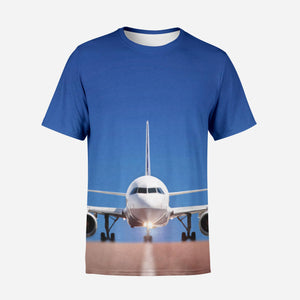 Face to Face with Airbus A320 Printed 3D T-Shirts