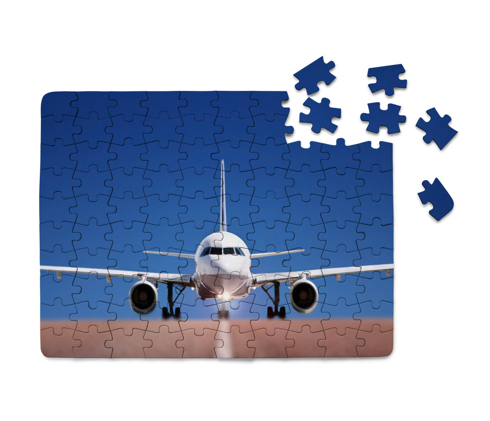 Face to Face with Airbus A320 Printed Puzzles Aviation Shop