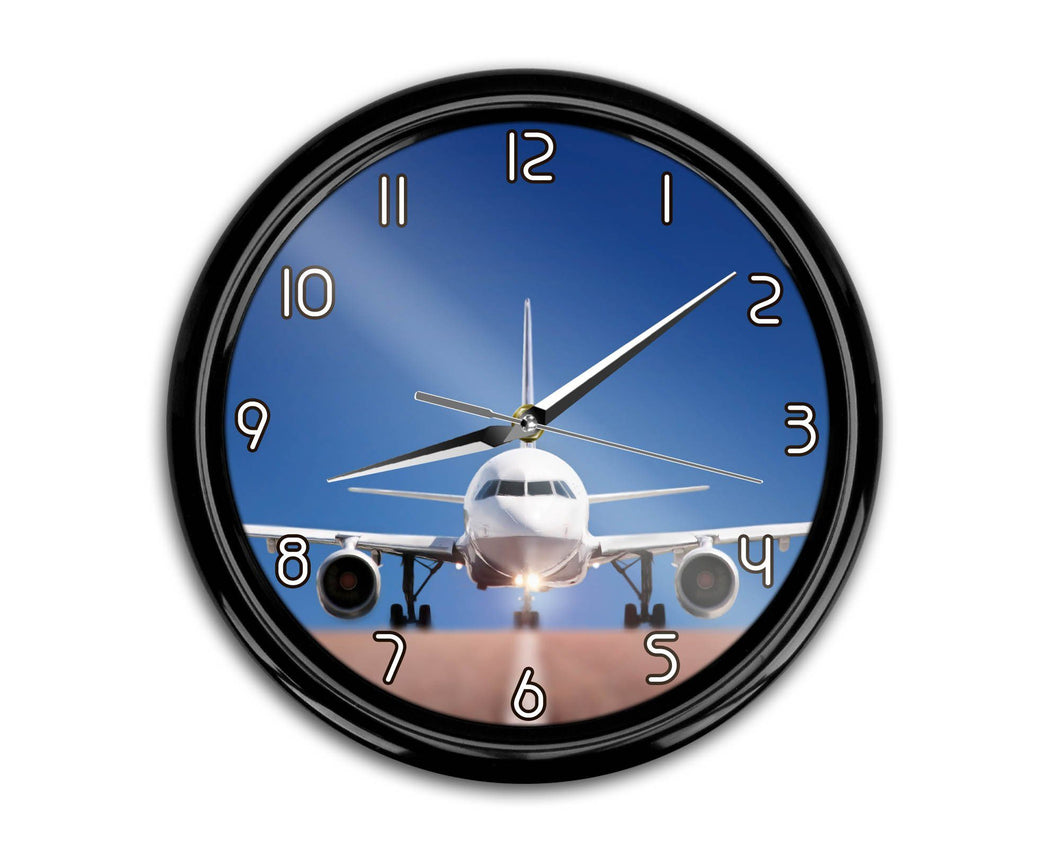 Face to Face with Airbus A320 Printed Wall Clocks Aviation Shop