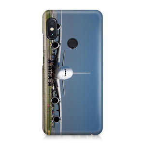 Face to Face with Airbus A380 Printed Xiaomi Cases