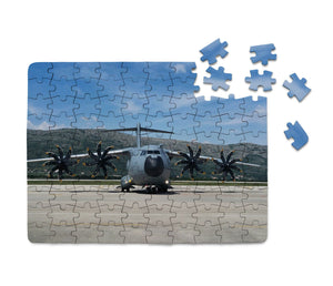 Face to Face with Airbus A400M Printed Puzzles Aviation Shop