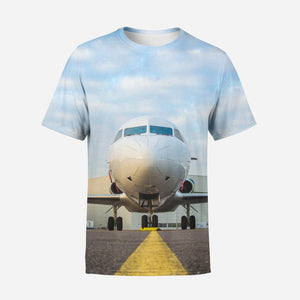 Face to Face with Beautiful Jet Printed 3D T-Shirts