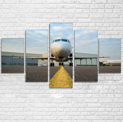 Face to Face with Beautiful Jet Printed Multiple Canvas Poster