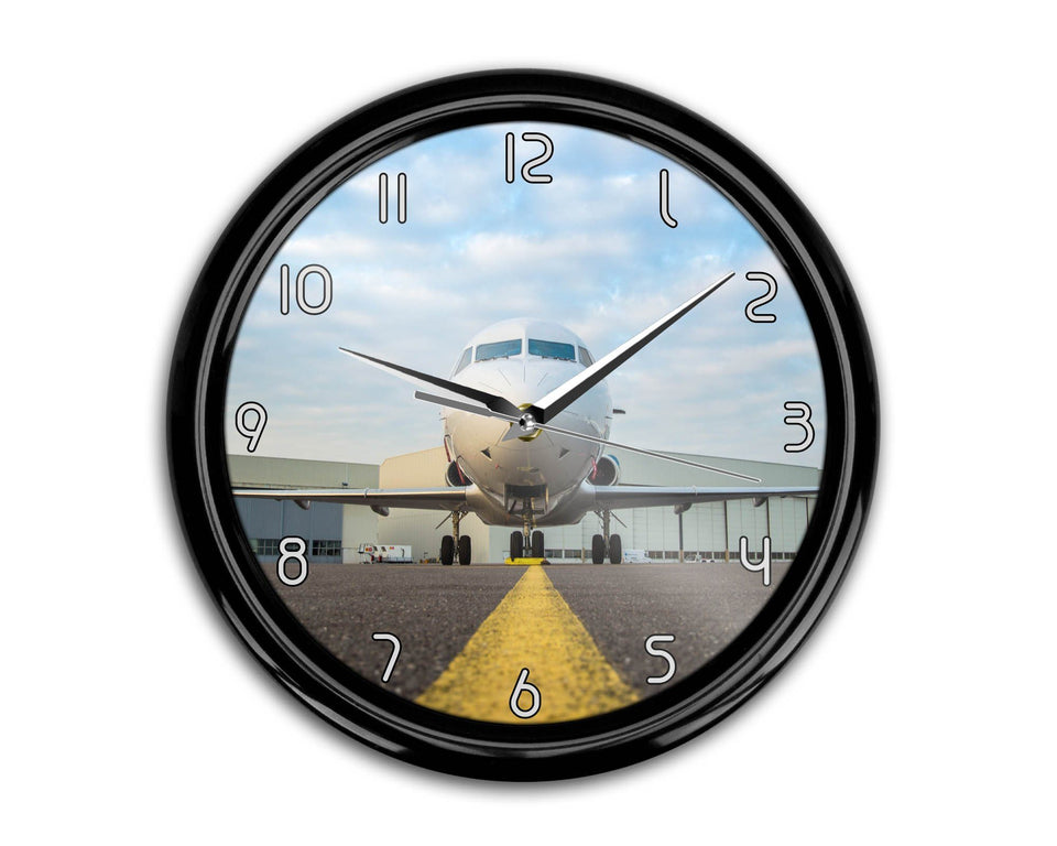 Face to Face with Beautiful Jet Printed Wall Clocks Aviation Shop