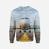 Face to Face with Beautiful Jet Printed 3D Sweatshirts