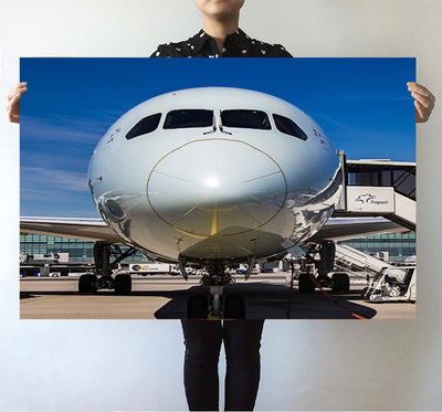 Face to Face with Boeing 787 Printed Posters