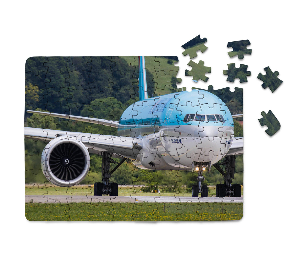Face to Face with Korean Airlines Boeing 777 Printed Puzzles Aviation Shop