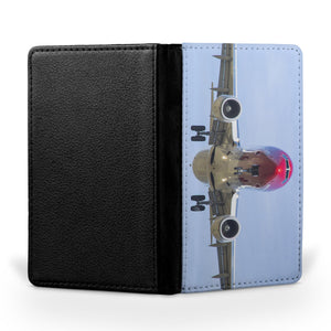 Face to Face with Norwegian Boeing 737 Printed Passport & Travel Cases