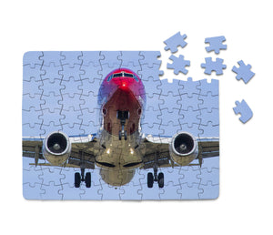Face to Face with Norwegian Boeing 737 Printed Puzzles Aviation Shop