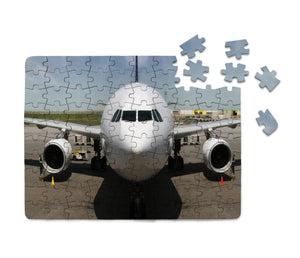Face to Face with an Huge Airbus Printed Puzzles Aviation Shop