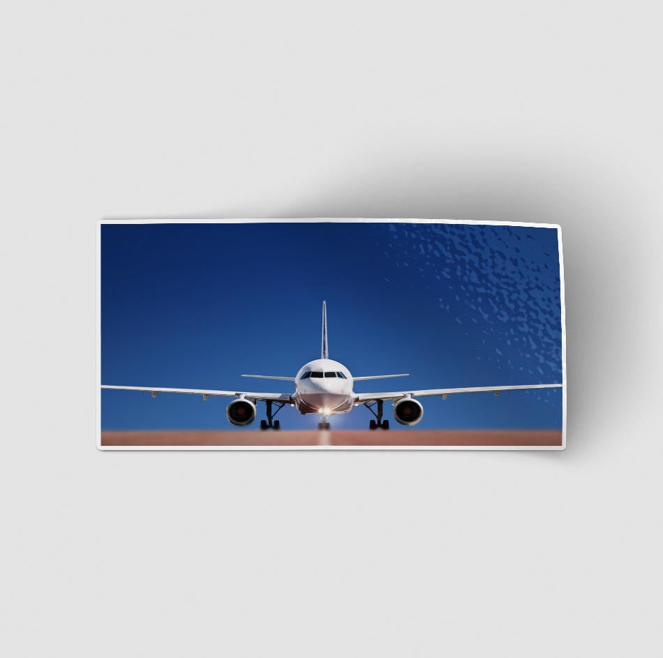 Face to Face with Airbus A320 Designed Stickers