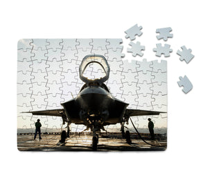 Fighting Falcon F35 Printed Puzzles Aviation Shop