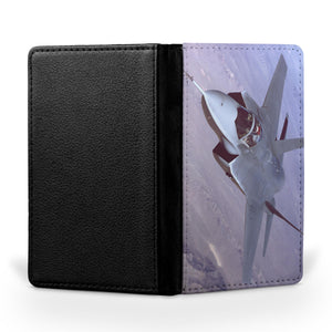 Fighting Falcon F35 Captured in the Air Printed Passport & Travel Cases