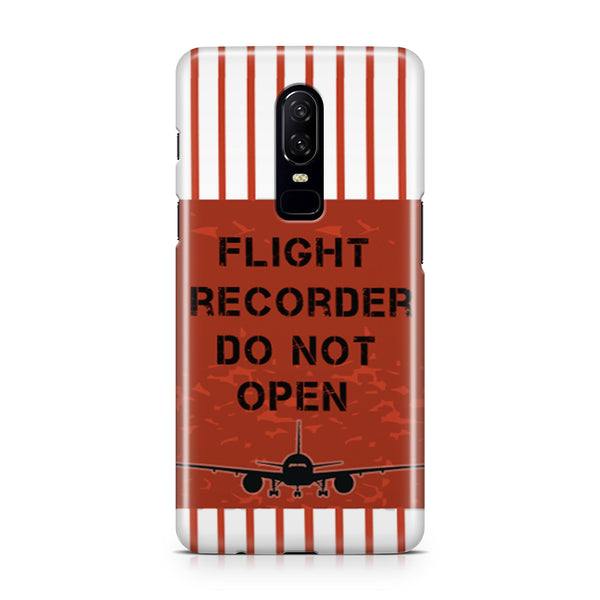 Flight Recorder Do Not Open Designed OnePlus Cases