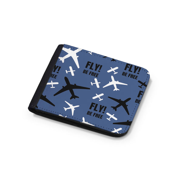 Fly Be Free Designed Wallets