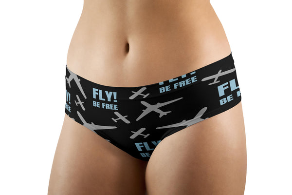 Fly Be Free Designed Women Panties & Shorts