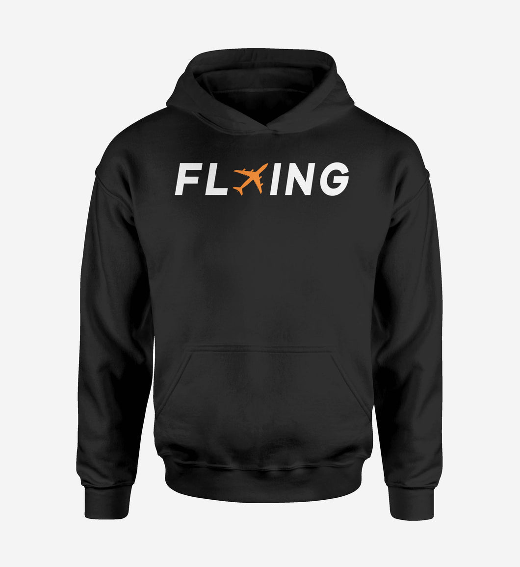 Flying Designed Hoodies