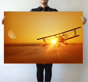 Flying is an Adventure Printed Posters Aviation Shop