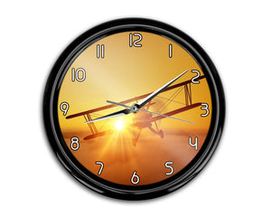 Flying is an Adventure Printed Wall Clocks Aviation Shop