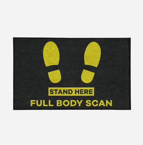 Full Body Scan Designed Door Mats Aviation Shop