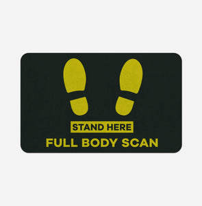 Full Body Scan Designed Bath Mats Pilot Eyes Store Floor Mat 50x80cm