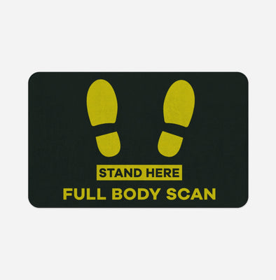 Full Body Scan Designed Door & Bath Mats