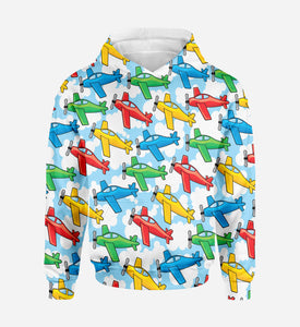 Funny Airplanes Printed 3D Hoodies