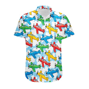 Funny Airplanes Designed 3D Shirts