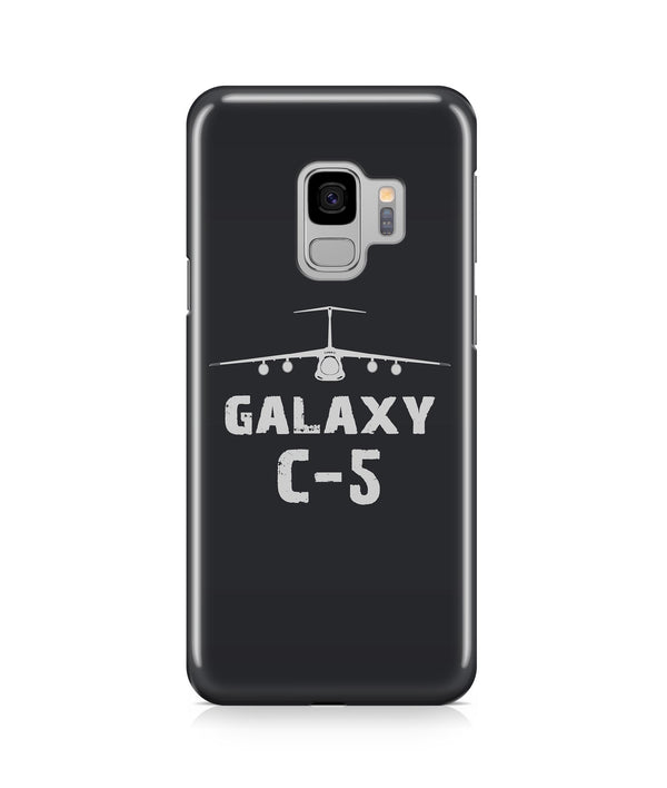 Lockheed Galaxy C-5 Plane & Designed Samsung J Cases