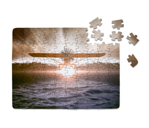 Graphical Propeller Printed Puzzles Aviation Shop
