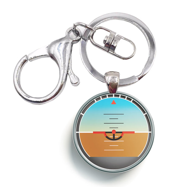 Gyro Horizon Designed Circle Key Chains