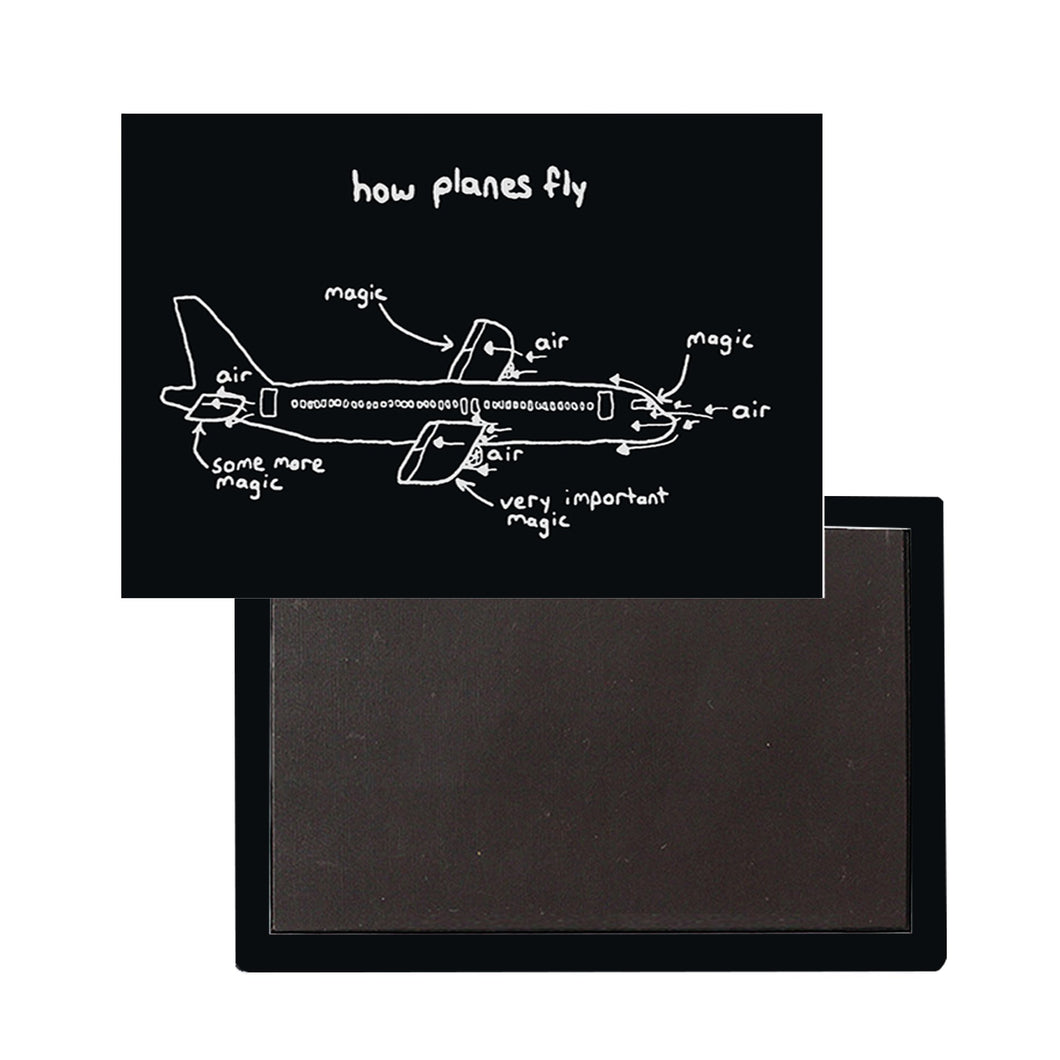 How Planes Fly Designed Magnet Pilot Eyes Store