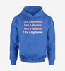 I Fix Airplanes Designed Hoodies