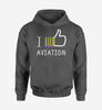 I Like Aviation Designed Hoodies